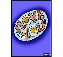 I love . . . Bacon and Eggs Photographic Print