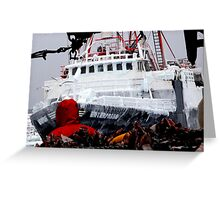 F/V Enterprise Greeting Card