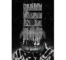 INTERSTELLAR poster Photographic Print