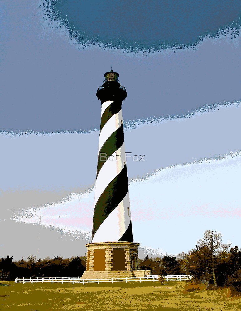 Cape Hatteras Lighthouse by Bob Fox