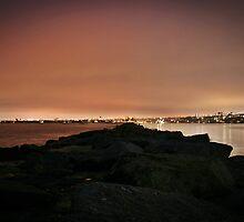 Neport Beach/Newport Harbor by Melissa  Carroll