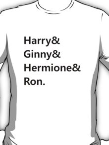 Harry & Ginny & Hermione & Ron T-Shirt
