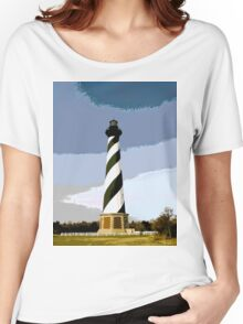 Cape Hatteras Lighthouse Women's Relaxed Fit T-Shirt