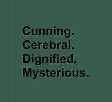 Characteristics - Slytherin by editsaye