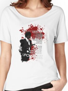 Movie Quote with-a-gun 4 PULP FICTION Women's Relaxed Fit T-Shirt