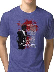 Movie Quote with-a-gun 4 PULP FICTION Tri-blend T-Shirt
