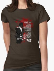 Movie Quote with-a-gun 4 PULP FICTION Womens Fitted T-Shirt