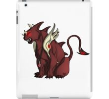 Demon Panther Design iPad Case/Skin