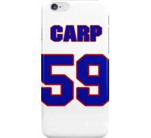 National baseball player Mike Carp jersey 59 iPhone Case/Skin