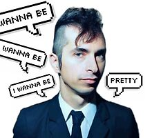Jimmy Urine Pretty Text by Quinn Baker