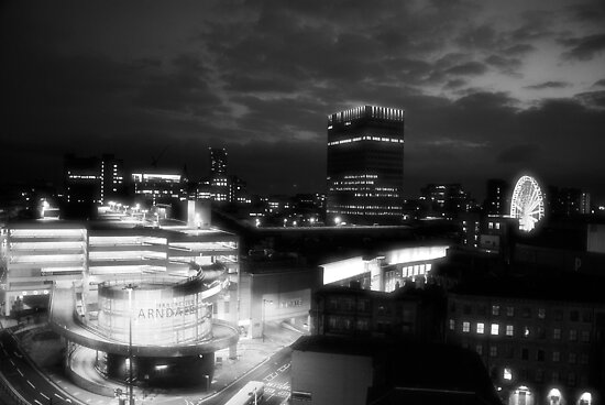 Infra red Manchester by shakey