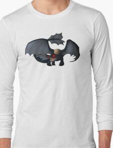 Night Fury Design Long Sleeve T-Shirt