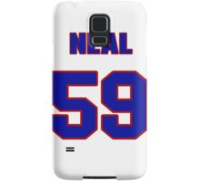 National baseball player Blaine Neal jersey 59 Samsung Galaxy Case/Skin