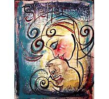 Cat Art Loralai Adoption Shelter Advocate Photographic Print