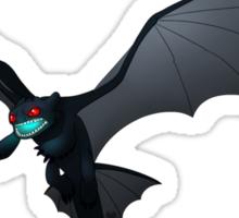 Flying Night Fury Design Sticker