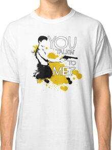 Movie Quote with-a-gun 1 TAXI DRIVER Classic T-Shirt