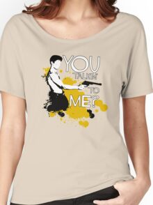 Movie Quote with-a-gun 1 TAXI DRIVER Women's Relaxed Fit T-Shirt