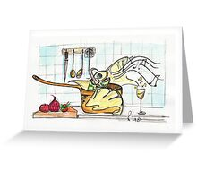 WHAT!  you doing? Greeting Card