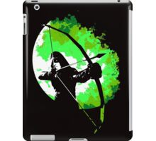 He walks at night... (Green) iPad Case/Skin