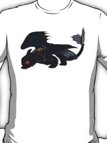 Saddled Night Fury Design T-Shirt