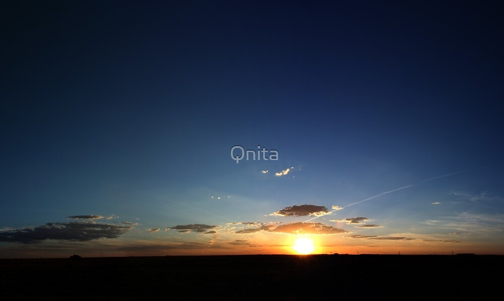 Life is BEAUTIFUL... (LANDSCAPE) Panorama Sunset, Free State, South Africa by Qnita