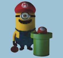 Mario minion  by LETTHEM