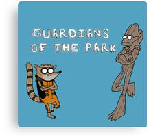 guardians of the park Canvas Print