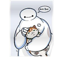 BH6 - Hairy Baby  Poster