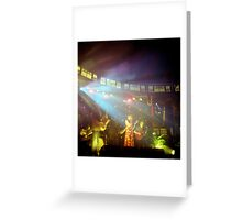 The Famous Spiegeltent, Melbourne Greeting Card