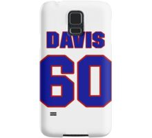 National baseball player Kane Davis jersey 60 Samsung Galaxy Case/Skin