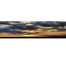 Thorny Croft's Paintbrush Sunset, Free state, South Africa Photographic Print
