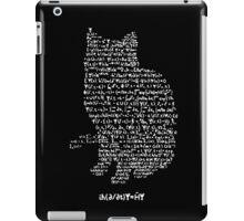 Schrodinger's equation iPad Case/Skin