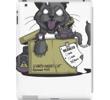 Schrodinger's cat iPad Case/Skin