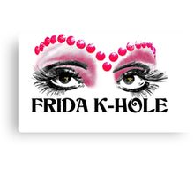 Frida K-Hole Eyes Canvas Print