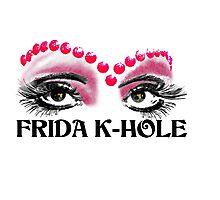 Frida K-Hole Eyes Photographic Print