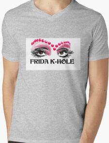 Frida K-Hole Eyes Mens V-Neck T-Shirt