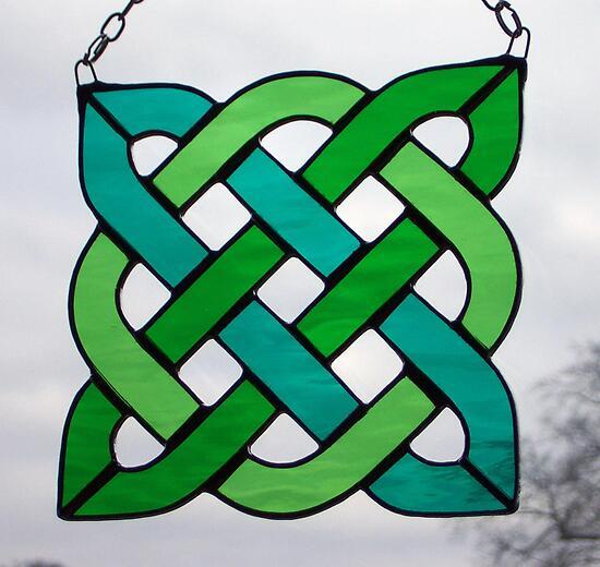 celtic knot square frame celtic square simple celtic knot square    Simple Celtic Knot Square