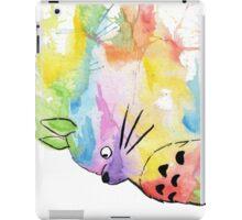 Rainbow Totoro iPad Case/Skin