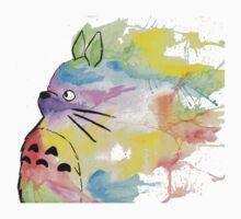 Rainbow Totoro Kids Clothes