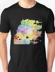 Rainbow Totoro Unisex T-Shirt