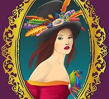 Lady with a hat ! by dzynstudio
