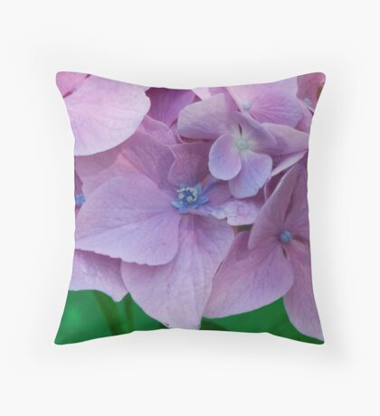 The Softness of Pedals Throw Pillow