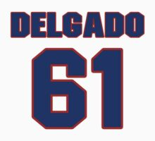 National baseball player Jesus Delgado jersey 61 by imsport