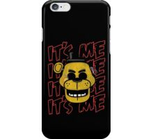 Five Nights At Freddy's It's Me Golden Freddy Fazbear iPhone Case/Skin