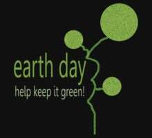 Lime Bubble Plant - Earth Day by Ruth Palmer