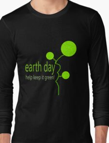 Lime Bubble Plant - Earth Day T-Shirt
