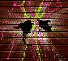 London Street Art - Ratatouille 2 by Kiwikiwi