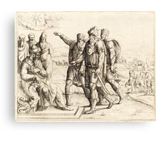 King Herod and the Three Wise Men Canvas Print