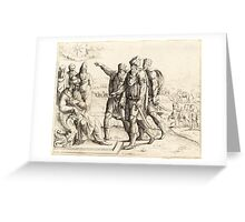 King Herod and the Three Wise Men Greeting Card