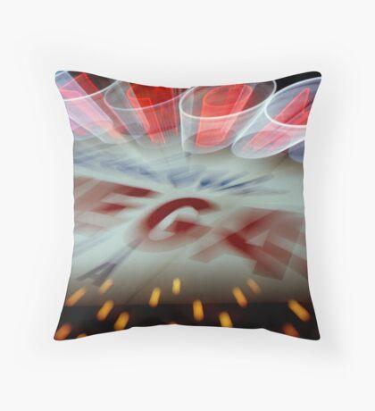 Vegas Sign No. 15 Throw Pillow
